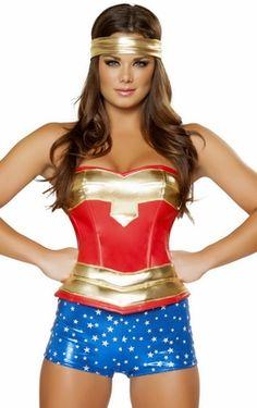 Sexy Wonder Woman Costumes, Sexy Super Hero Costumes, Sexy Halloween Costumes