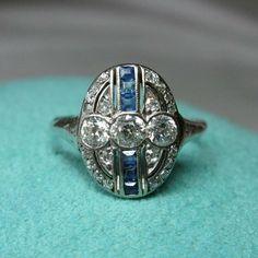 Three Stone Diamond Ring, Unique Diamond Rings, Art Deco Diamond Rings, Vintage Diamond Rings, Round Diamond Ring, Art Deco Ring, Vintage Rings, Unique Rings, Art Deco Wedding Rings