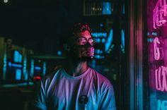NOXIY- Next Gen Mask Transparent & Customizable | Indiegogo Fashion Photography Poses, Headshot Photography, Night Photography, Lifestyle Photography, Creative Photography, Smoke Photography, Aesthetic Photography Grunge, Grunge Photography, Headshot Fotografie