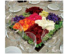 Blume Diseño de Eventos / centros de mesa #boda #flores #México