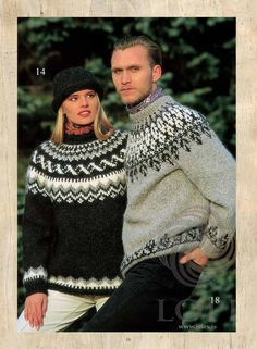 Sweater Knitting Patterns, Knitting Designs, Nordic Sweater, Men Sweater, Icelandic Sweaters, Fair Isle Pattern, Fair Isle Knitting, Wool Yarn, Knitwear