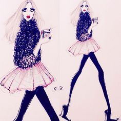 You deserve all the good things in the world :) #Illustration #fashionart #