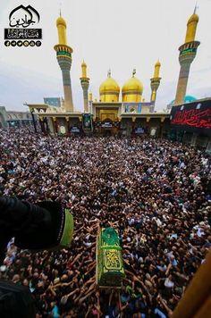 Atmosphere of KADHIMAIN on the martyrdom of our seventh Holy Imam. HAZRAT Imam MUSA IBN JAFFAR Al KAZIM A.S.W.S