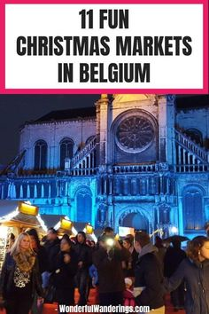 Looking for tips for some Christmas travel? Check out these Christmas markets in Belgium including Brussels and Bruges Road Trip Europe, Europe Travel Tips, Travel Advice, Travel Plan, Travel Destinations, Christmas Travel, Christmas Markets, Christmas Traditions, Europe Holidays