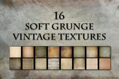 Vintage Texture Pack by Dirk's texture pit on @creativemarket