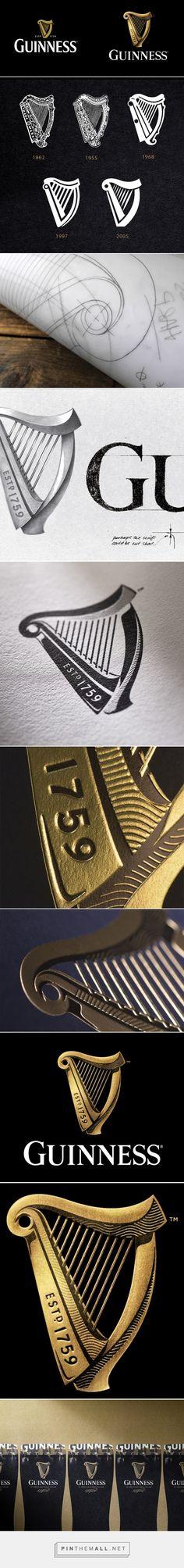 Brand New: New Logo for Guinness by Design Bridge - created via https://pinthemall.net