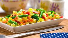 Corn & Veggie Salad Recipe - طريقة عمل سلطة الذره والخضار
