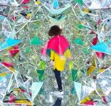 Trippy Kaleidoscopic Shipping Container Contains 1,100 Mirrors | Inhabitat - Sustainable Design Innovation, Eco Architecture, Green Building