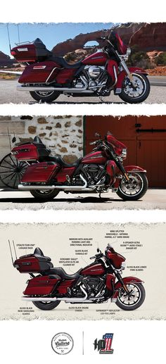 Luxury touring with almost any riders reach. | 2016 Harley-Davidson Ultra Limited Low