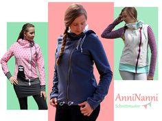 Nähanleitungen Mode - eBook AnniNanni Jacke - ein Designerstück von Anni-Nannis bei DaWanda