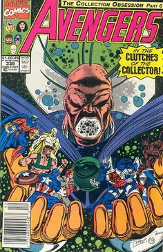 Avengers # 339 by Ron Lim & Tom Palmer