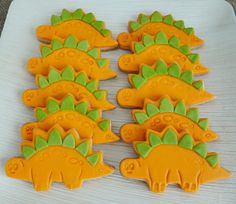 Adorable cookies at a dinosaur party! See more party ideas at CatchMyParty.com!  #partyideas #dinosaur