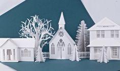 Ledge Village by Marji Roy 3DCuts.com