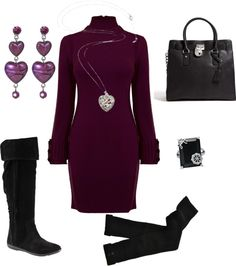"""""""Purple Heart"""" by sunnykansas on Polyvore"""