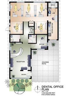 Small Dental Office Design   Dental Office Design Floor Plans – Home Office Design Hints To ...: