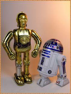 C-3PO and R2-D2 Tin Toys