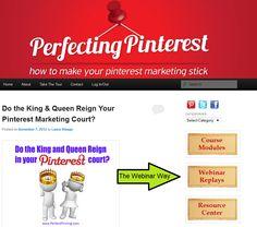 Perfecting Pinterest Training Webinar
