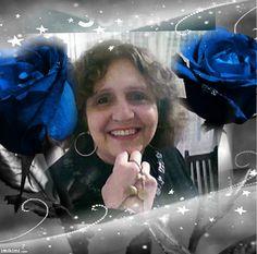 Winter,Rose,Blue