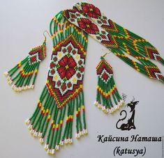 Hand Embroidery Designs, Loom Beading, Native American, Beads, Bracelets, Jewelry, Women's Fashion, Earrings, Christmas