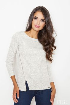 European Silver Lining Sweater