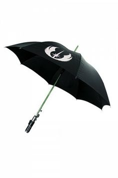 Star Wars Yoda Lightsaber Umbrella - Accessory