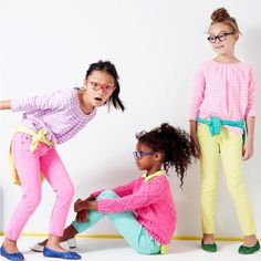 Crewcuts from J.Crew- great kids clothing in beautiful neon sherbet colors