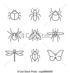 simple ant drawing - Google Search