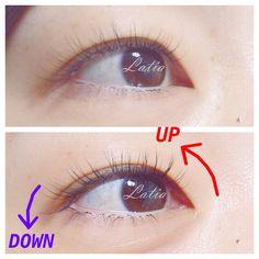 奥二重、一重さんの優しく見えるまつげエクステデザイン   リフト ... 奥二重ビフォーアフター Lash Growth, Eyelashes, Eyes, Beauty, Lashes, Beauty Illustration, Cat Eyes, Eyelash Growth