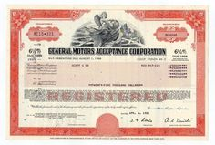 Twenty Dollar Bill, Dow Jones Index, Money Template, Stocks And Bonds, Money Notes, Retro Vector, Banknote, General Motors
