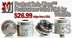 Vapor Joes - Daily Vaping Deals: THE NEXT SMALL THING:  THE FREAKSHOW MINI RDA - $2...