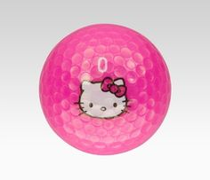 Hello Kitty Hot Pink Golf Balls Set of 12: Golf Tues: Anything Pink #SephoraHelloKitty