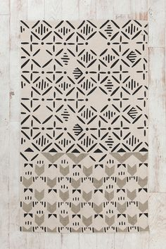 Magical Thinking Slice-Stamp Rug