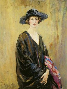 FCBTC / Dorothy Una Ratcliffe (1891-1967) by Ambrose McEvoy (1878–1927). Leeds City Museum, Leeds Museums and Galleries