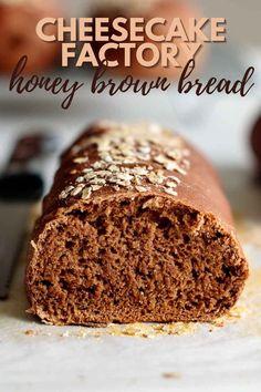 Bread Maker Recipes, Sandwich Bread Recipes, Yeast Bread Recipes, Baking Recipes, Cake Recipes For Bread Machine, Bread Machine Bread, Italian Bread Recipes, Savory Bread Recipe, Cheesecake Factory Brown Bread