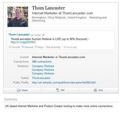 Thom Lancaster on LinkedIn