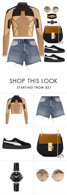 """Si Bule"" by xoxomuty on Polyvore featuring adidas Originals, Alexander Wang, Puma, Chloé, Movado, Vita Fede and polyvoreOOTD"