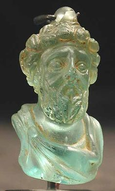 Glass Portrait Of The Emperor Septimius Severus Origin: Jerusalem Circa: 193 AD to 211 AD Dimensions: high x wide Collection: Classical Medium: Glass History Of Glass, Art History, Historical Artifacts, Ancient Artifacts, Mesopotamia Art, Ancient Rome, Ancient History, Art Romain, Art Of Glass