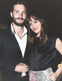 Dakota Johnson - Jamie Dornan Fifty Shades Of Grey