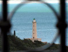 We ♥ Greece | Lighthouse in Kraneia islet, Gytheio #Greece #travel #explore #destination