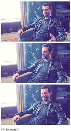 Pics from Richard's newest interview with IGN 5/8/13