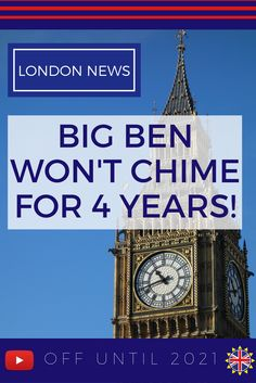 Want to hear and see Big Ben when you visit London? The famous clock's bells won't ring again until 2021. Watch here to learn what has happened to this London icon.