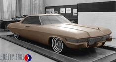 OG | Cadillac | Full-size clay model taken inside the Cadillac studio dated July 1963
