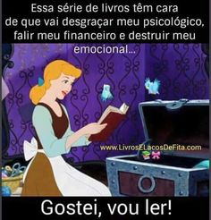 Uma imagem nunca definiu tanto minha vida! Book Memes, Book Quotes, Little Memes, La Girl, Funny Phrases, World Of Books, Literary Quotes, Disney Quotes, Book Fandoms