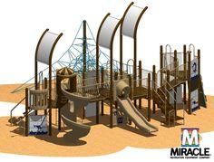 Resultado de imagen para nautical themed playground equipment