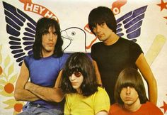 In the the Ramones shaped the sound of punk rock in New York with simple, fast songs, deadpan lyrics, no solos, and an impenetrab. Ramones, Joey Ramone, Hey Ho Lets Go, Love Yourself Lyrics, My Favorite Music, Playing Guitar, No One Loves Me, Punk Rock, Rock Bands