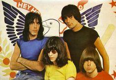 THE RAMONES (Marky Ramone; Dee Dee Ramone; Joey Ramone; Johnny Ramone)