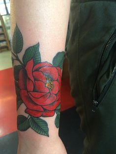 New tattoo by the lovely Glennie at the Pearl Harbor gift shop in Toronto