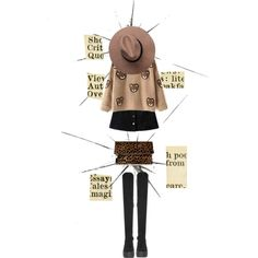 Ready to Bear by shica-du on Polyvore featuring Office, Clare V., women's clothing, women's fashion, women, female, woman, misses, juniors and beautifulhalo