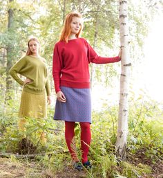 KAINO Knitwear AW2014 - Knitted Skirt and jumper