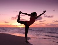 """""""when you step onto your mat, pretend you are stepping into another world, where the only thing that exists is yoga and yourself. No past, no future, just the moment at hand."""""""